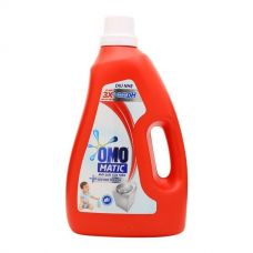DETERGENT LIQUID OMO MATIC FOR GENTLE TO THE SKIN TOP LOADING BOTTLE 2.4KG