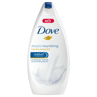 Dove Body Wash Deeply Nourishing