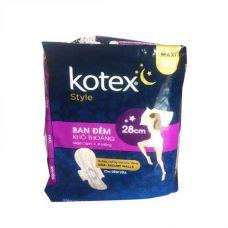 Kotex Sanitary Napkin Maxi Night The Wing