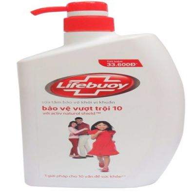 Body Wash Lifebuoy Exceptional Protection 600g