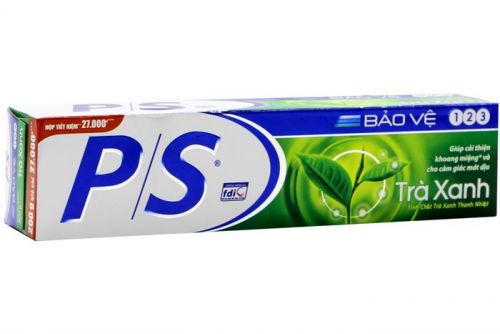 P / S Protects 123 Green Tea