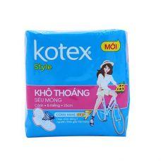 Kotex Style ultra thin wings