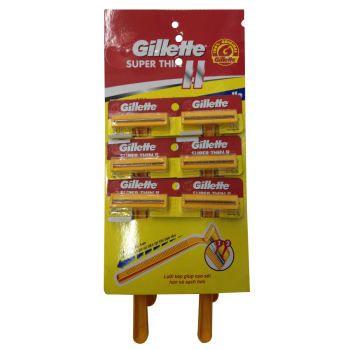 Gillette Super Thin II (Cán vàng)