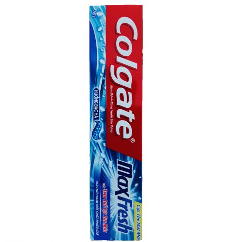 Colgate Maxfresh toothpaste with mint flavor