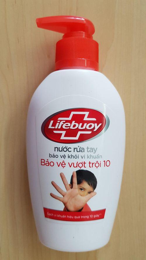 Lifebuoy Hand Washing Superior protection