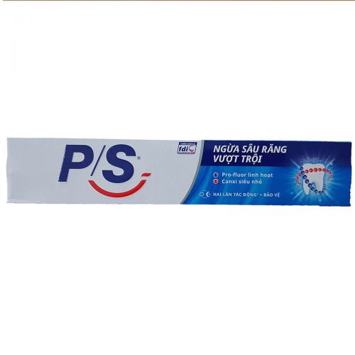 P / S toothpaste prevents superior tooth decay