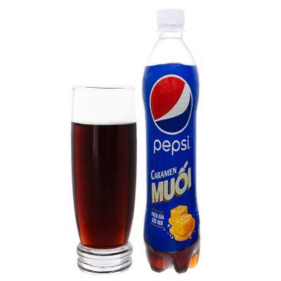 Pepsi Caramen salt 390ml bottle