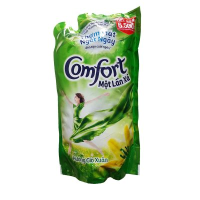 Comfort fabric softener once discharged spring wind bag