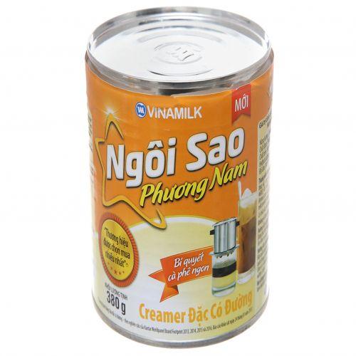 Condensed milk has sugar Star Phuong Nam cam lon 380g