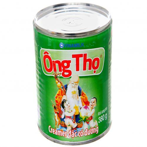 Condensed milk has 380g green Ong Tho sugar