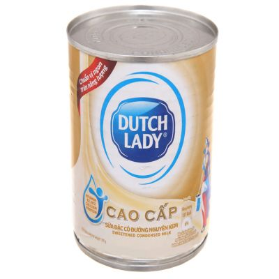 Dutch Lady sweetened condensed milk with cream of 380g