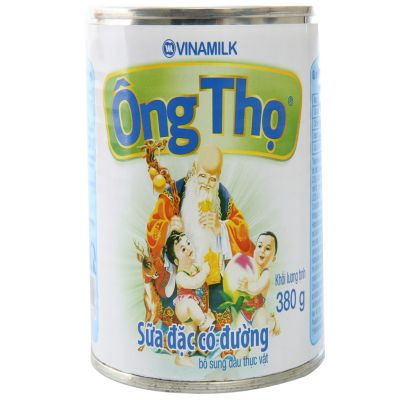 Condensed milk has Ong Tho sugar white 380g