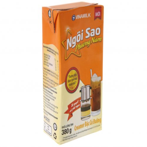 Condensed milk has Ngoi Sao Phuong Nam  orange box of 380g