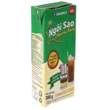 Condensed milk with 380g Ngoi Sao Phuong Nam green sugar